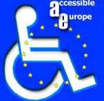Information about AccessibleItaly: AccessiblEurope - Logo
