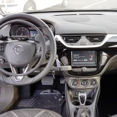 Opel Corsa with hand controls