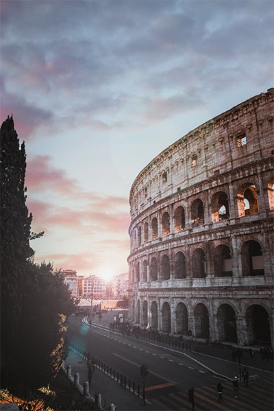Lazio and Rome accessible: Colosseum by Pexels_Mario-Cuadros