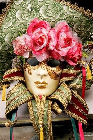 Veneto Trentino Venice accessible: Venice Carnival mask by Pexels_Aigars-Jansons