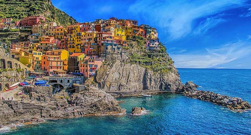 Liguria - 5 Terre - Manarola - pexels-pixabay-248771