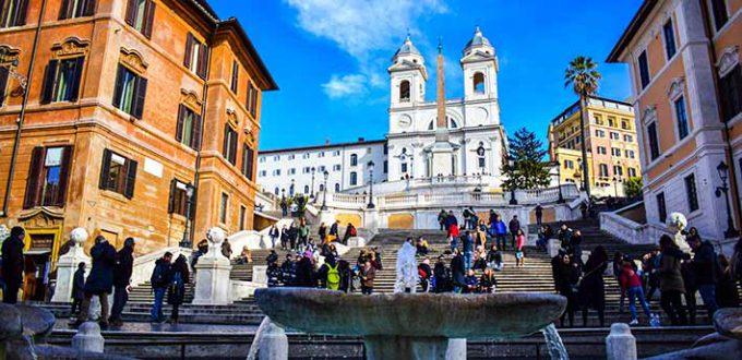 Rome - Trinità dei Monti
