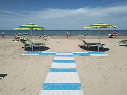 Marche - Senigallia - Accessible beach