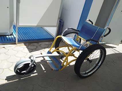 Marche - Senigallia - Beach Wheelchair