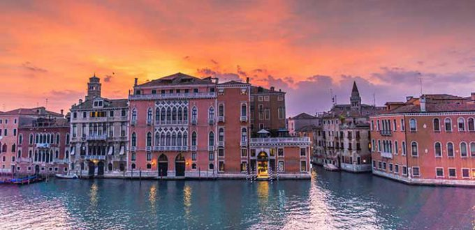 Venezia city break accessibile - Palazzi sul Canal Grande