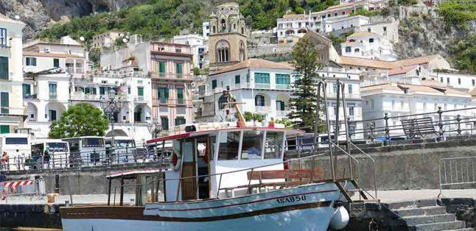 Amalfi, Sorrent und Paestum