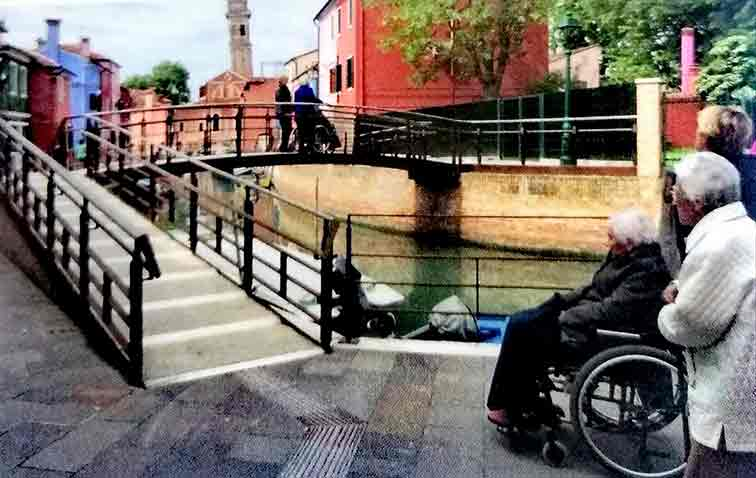 Venezia accessible per tutti - Ponte accessibile a Venezia