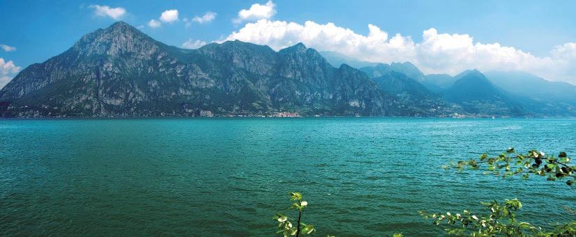 Lombardia Lago d' Iseo panorama