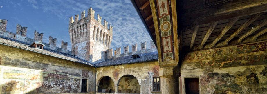 Bergamo provincia castello medievale