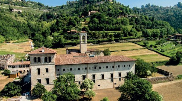 Bergamo abbey panorama