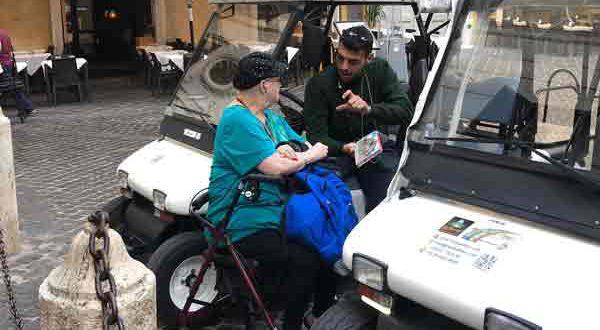 Rom Golfwagen Touren für Behinderte